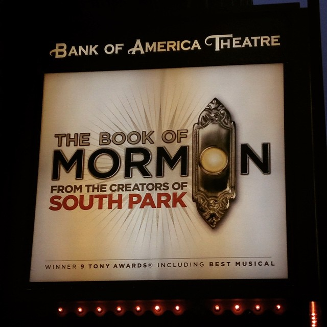 It's show time!  #bookofmormon #musical #chicago  http://ift.tt/1ENArZz