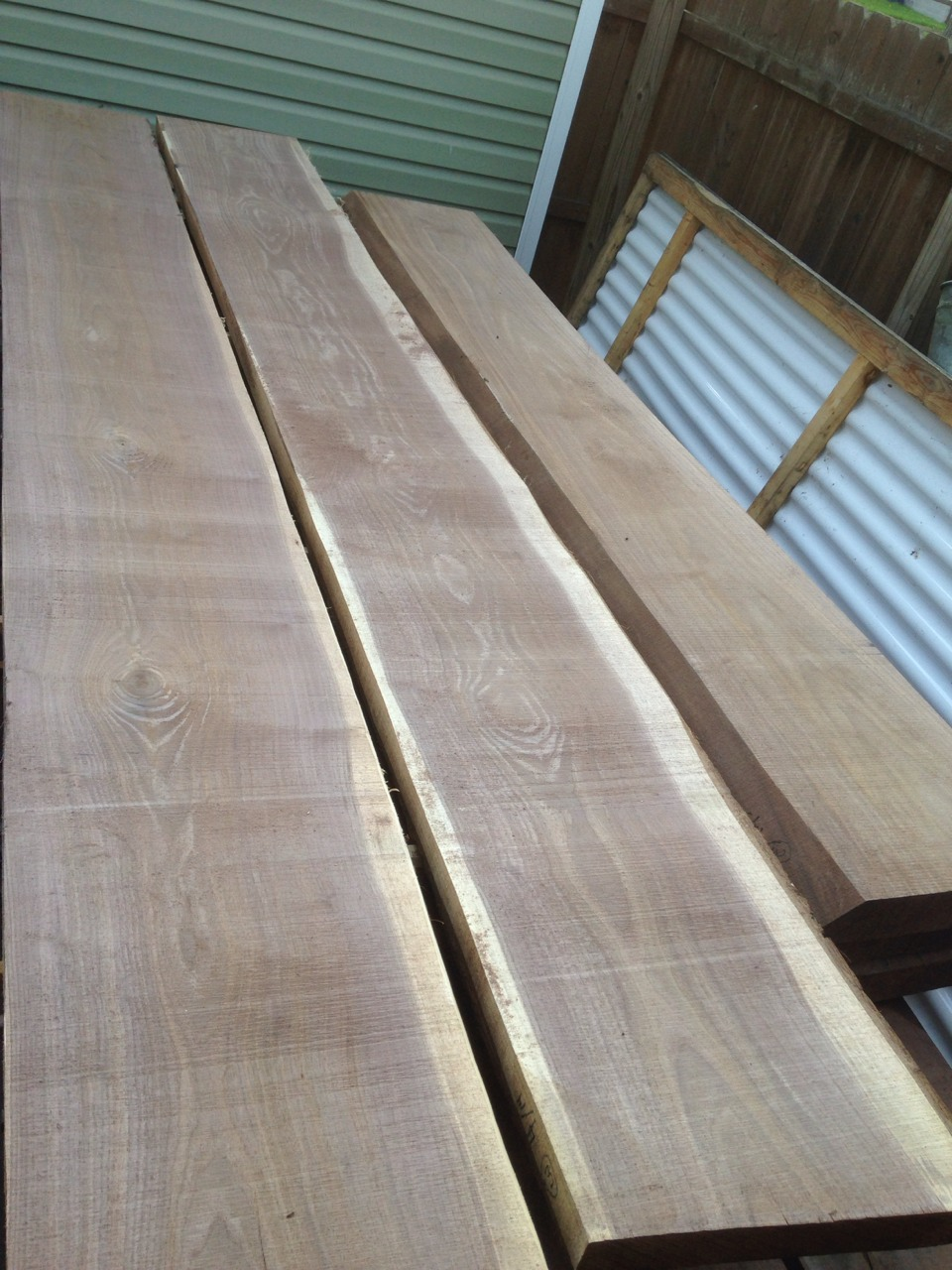 Walnut slabs - layer 4