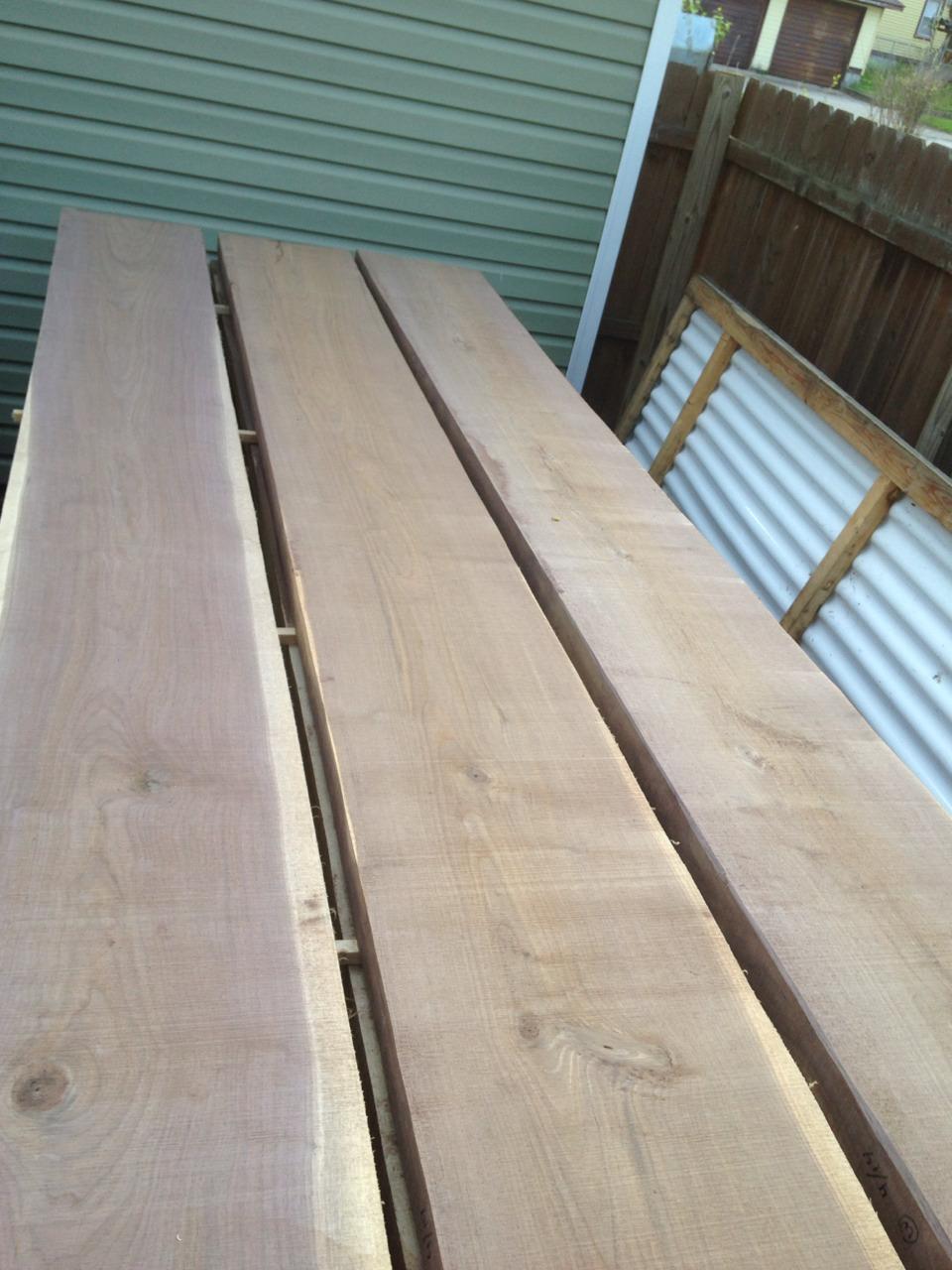 Walnut slabs - layer 5