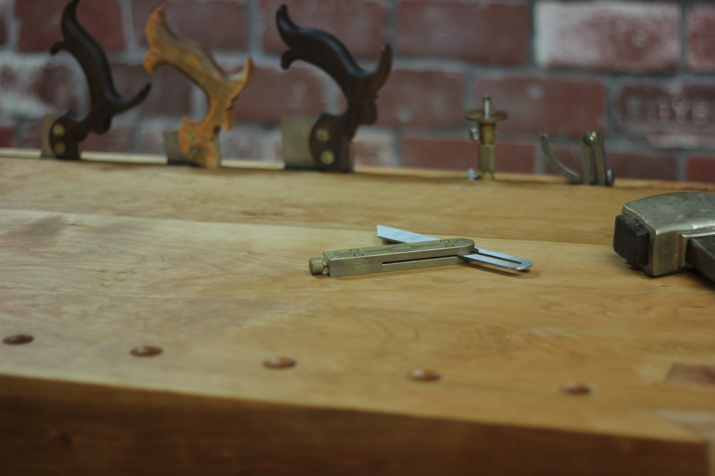 At the bench…