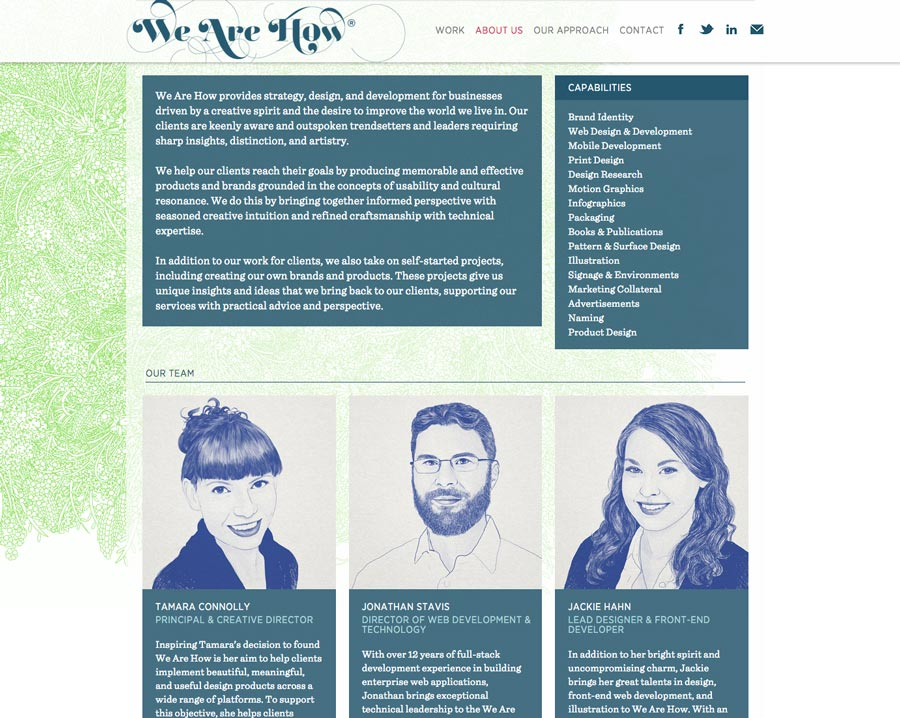 We Are How Studio Website