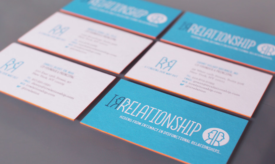 Irrelationship Business Cards