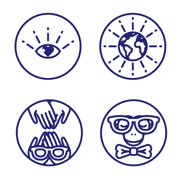 icons for  Dharma Co.    client: We Are How