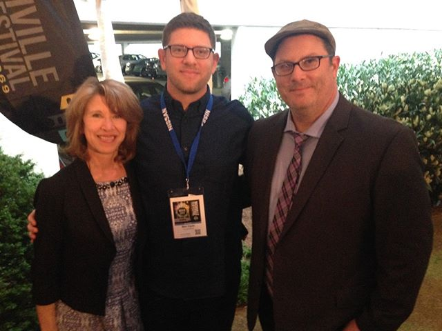 Directors Rob and Ben Clyde with their mom at the Nashville Film Festival Premiere. When you're movie's about fertility, you gotta give your mom props :) #film #infertility #indiefilm #fertility