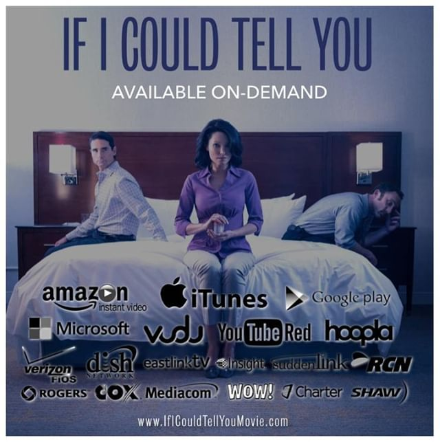 If you still haven't seen our film, there's lots of places to find it.  www.IfICouldTellYouMovie.com #film #infertility #indiefilm #fertility #backstreetboys #KevinRichardson