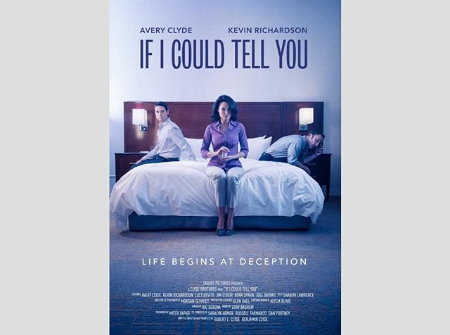 Man I love our poster! Photography by Jen Serena.  www.IfICouldTellYouMovie.com #film #infertility #indiefilm #fertility #backstreetboys #KevinRichardson #IICTY