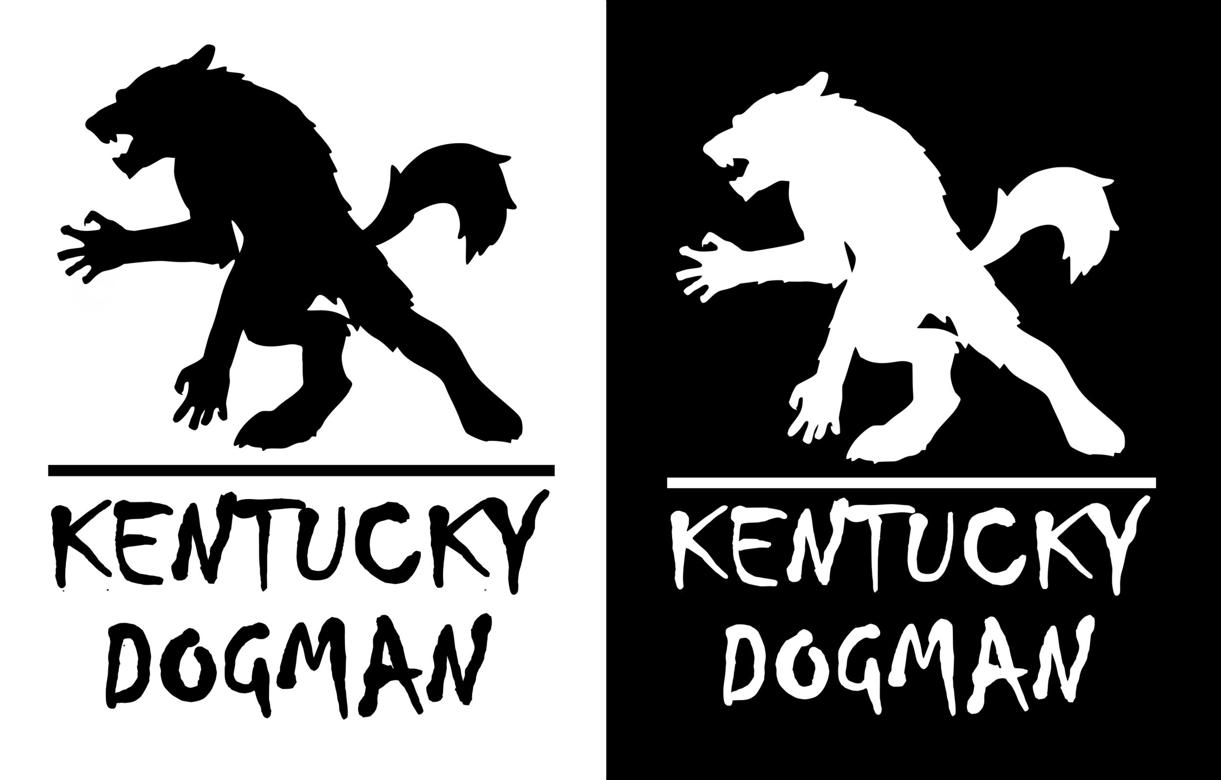 Kentucky Dogman - Measures 3.5x4.5