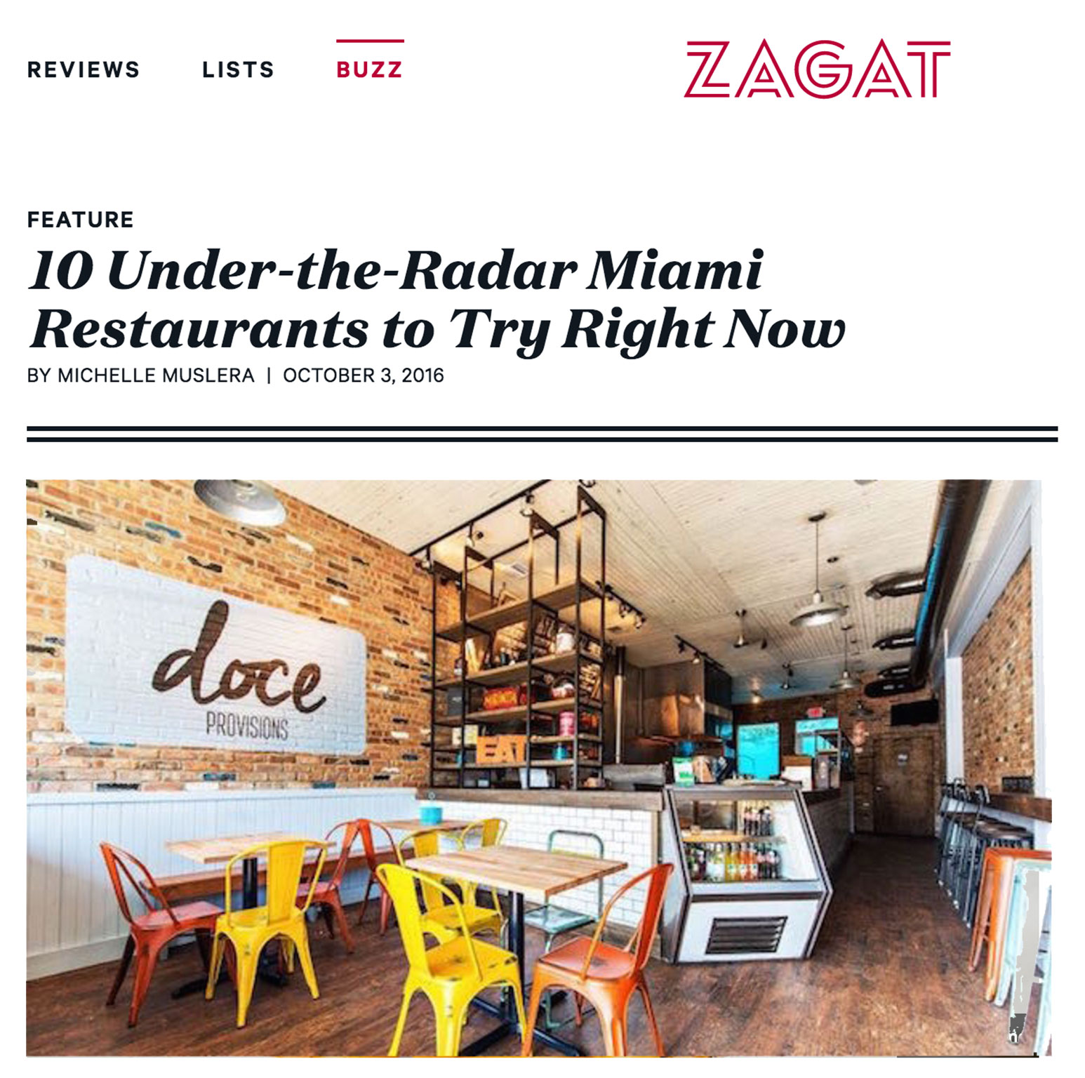 10 Under-the-Radar Miami restaurants to try right now ...  READ MORE