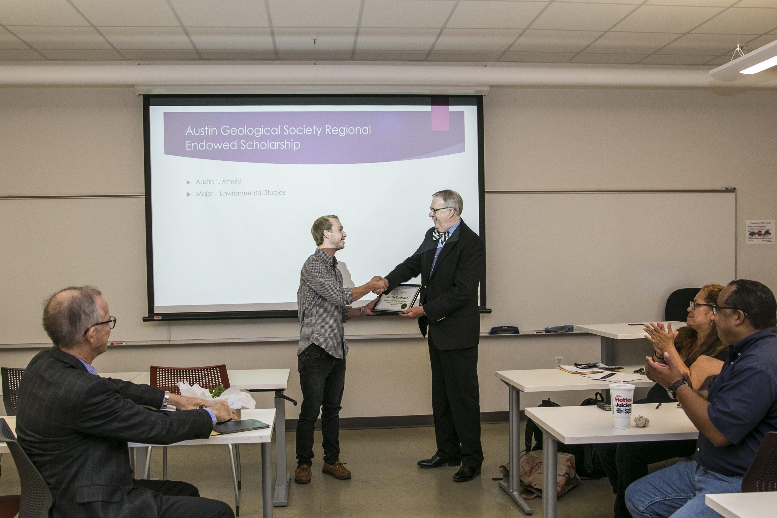 Austin Geological Society Regional Endowed Scholarship