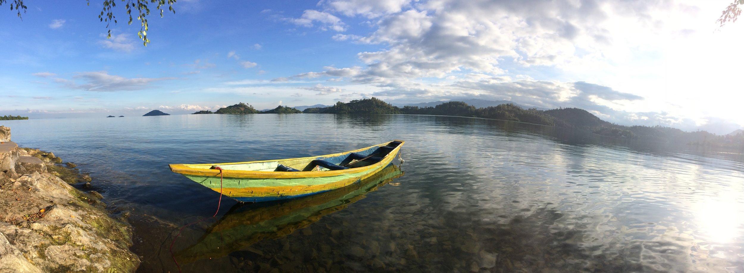 Lake Kivu in Rwanda's Western Province