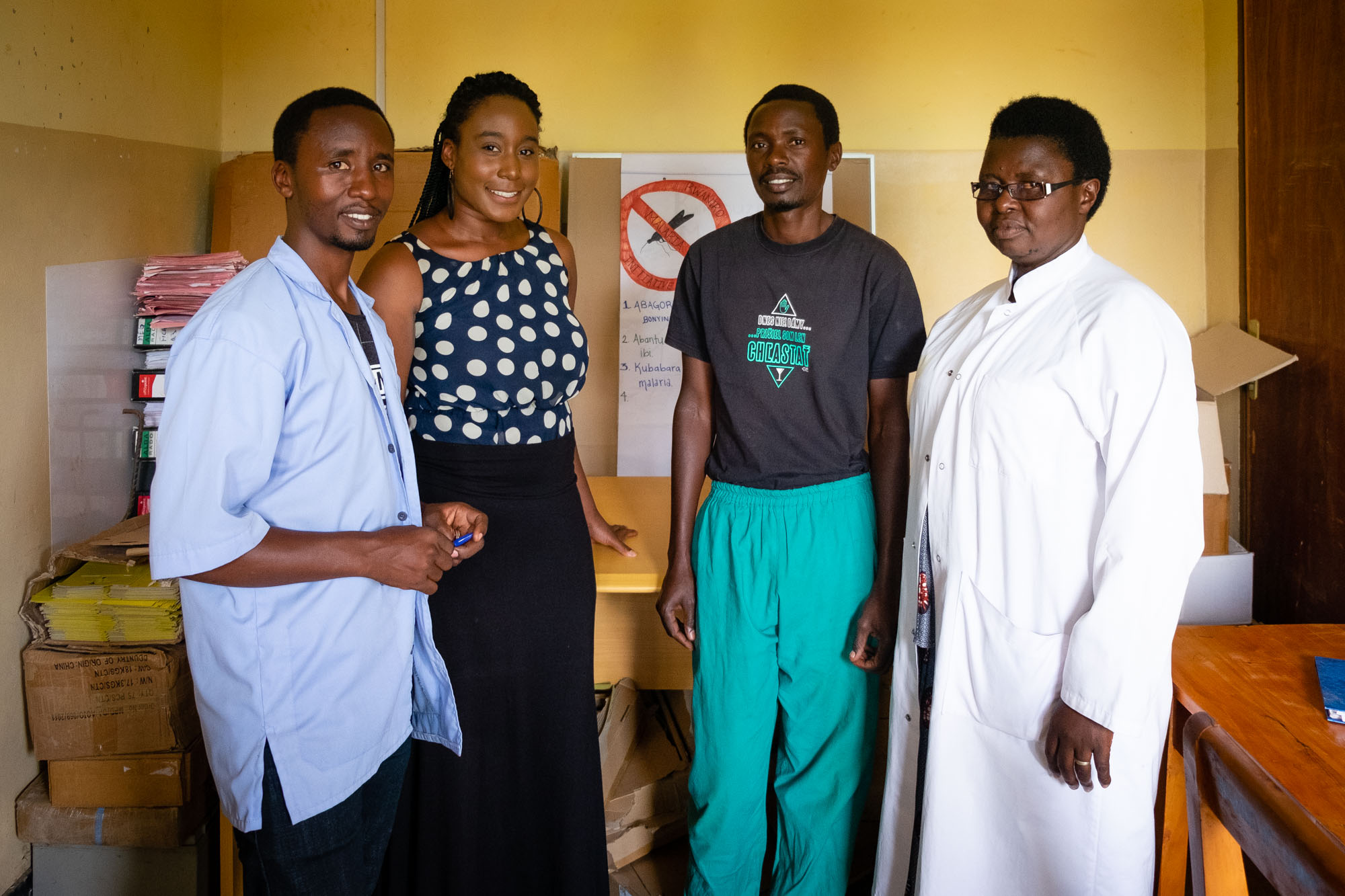 Niesha and her health center counterparts