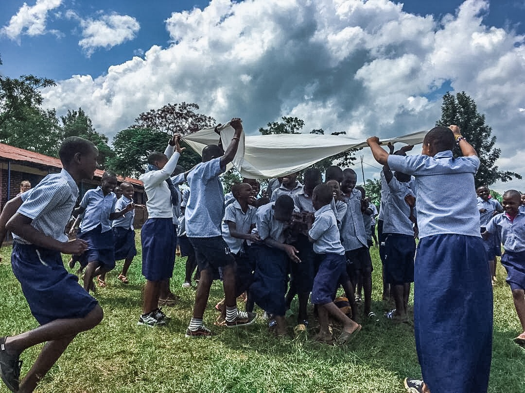 Together we can end malaria. - 2019 World Malaria Month: STOMPing Out Malaria in Rwanda