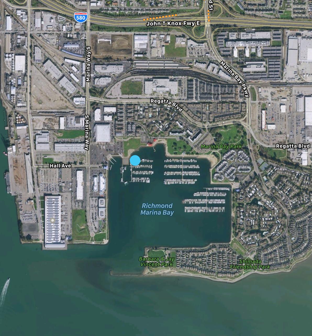 Marina Bay Yacht Harbor, Richmond