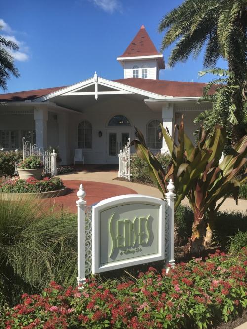 Senses Spa and Health Club at disney's grand floridian resort