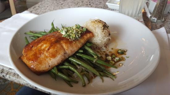 Miso-glazed Salmon,  Grand Floridian Cafe, Grand Floridian Resort and Spa
