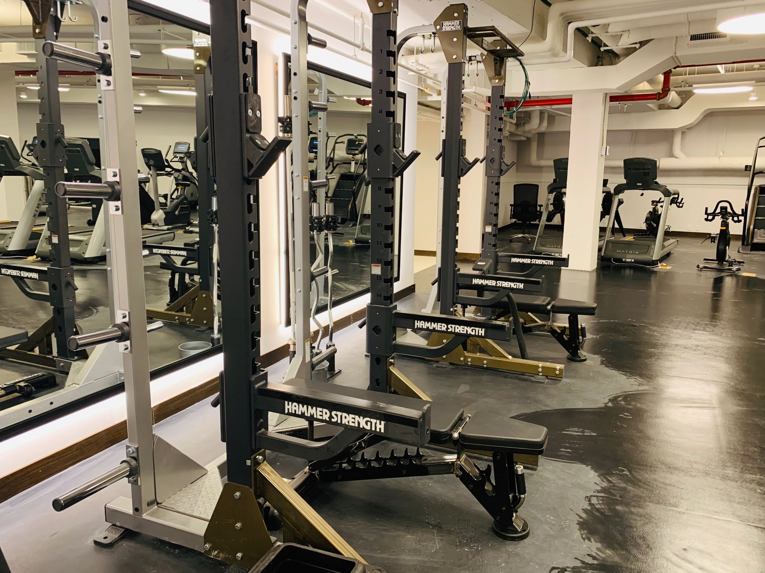 A Review of the World's Largest Hotel Gym at the TWA Hotel