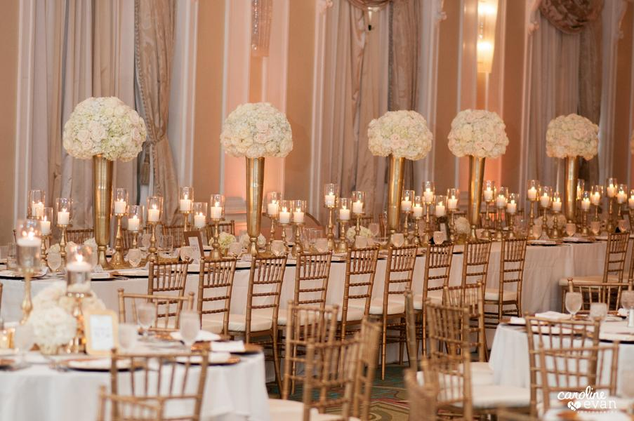 Gold Chiavari Chairs with Ivory Signature cushions