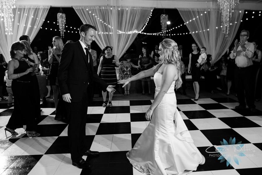 Black and White Dancefloor