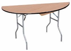 "Half Round Tables  60"""