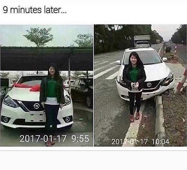 😂😂😂 Tag a bad driver. . #thursday #thirstythursday #fridayjr #memes #meme #memesdaily #memes😂