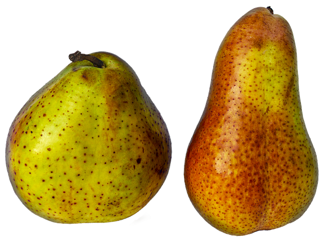 Three - Pears can help keep your bowels regular with all of the fiber and water they contain.