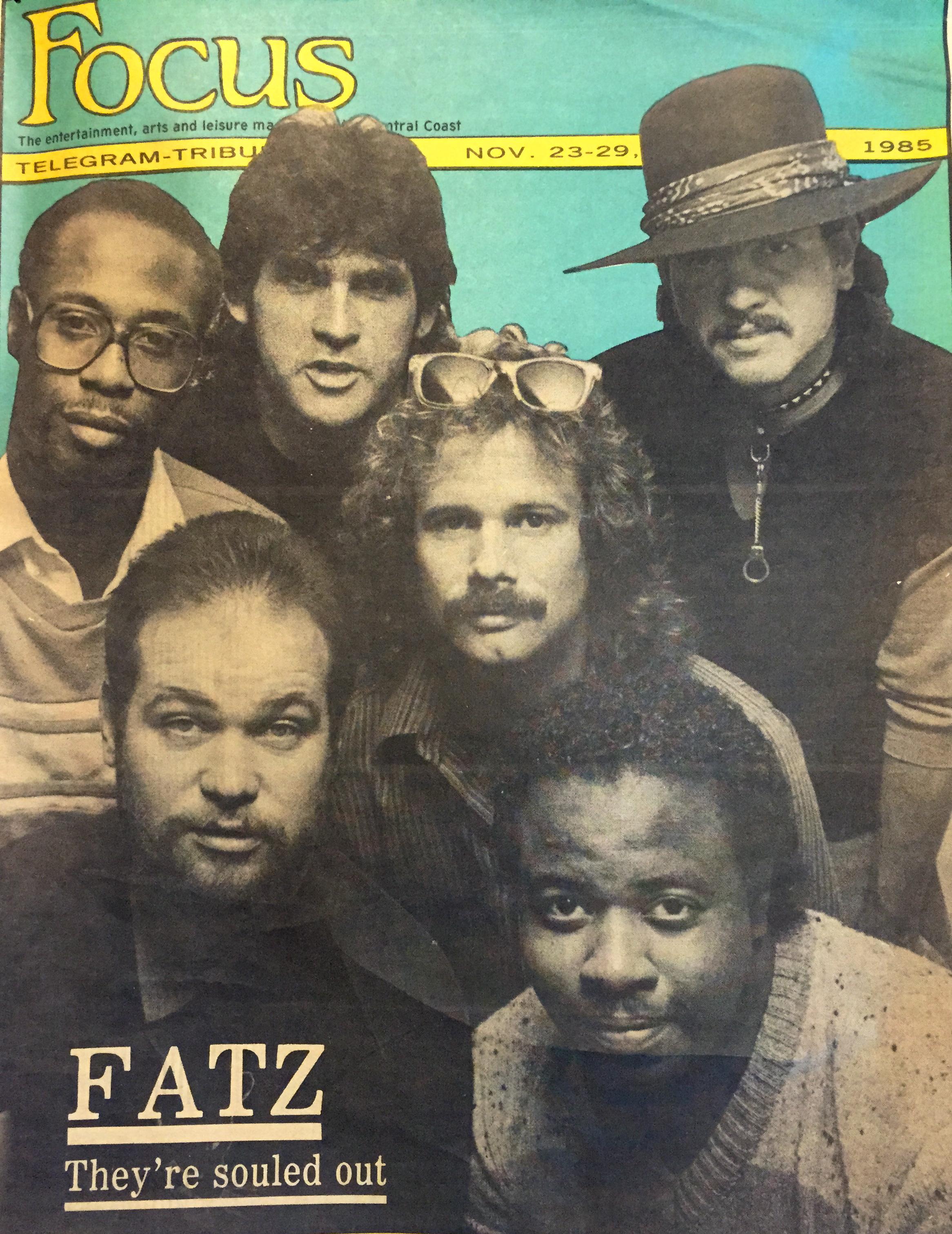 FATZ - Focus Magazine cover 1985