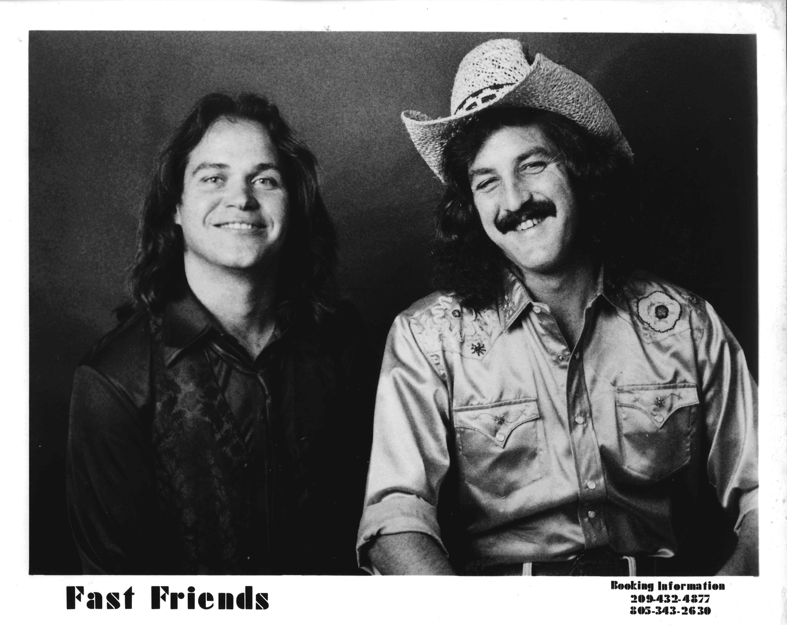 Fast Friends, Acoustic Duo - 1980