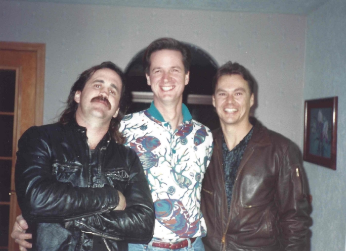 Theo, Duane and Marty.