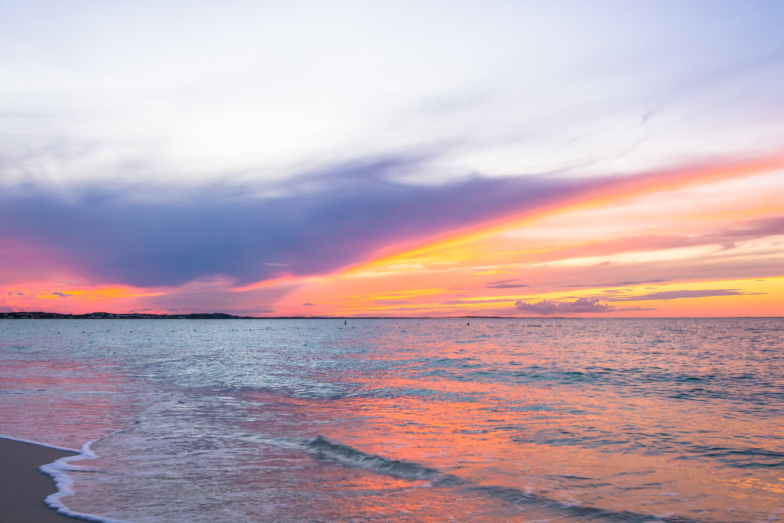 October: Sweet Heaven, Providenciales, TCI - I've documented this as one of the first gorgeous sunsets after the storms.