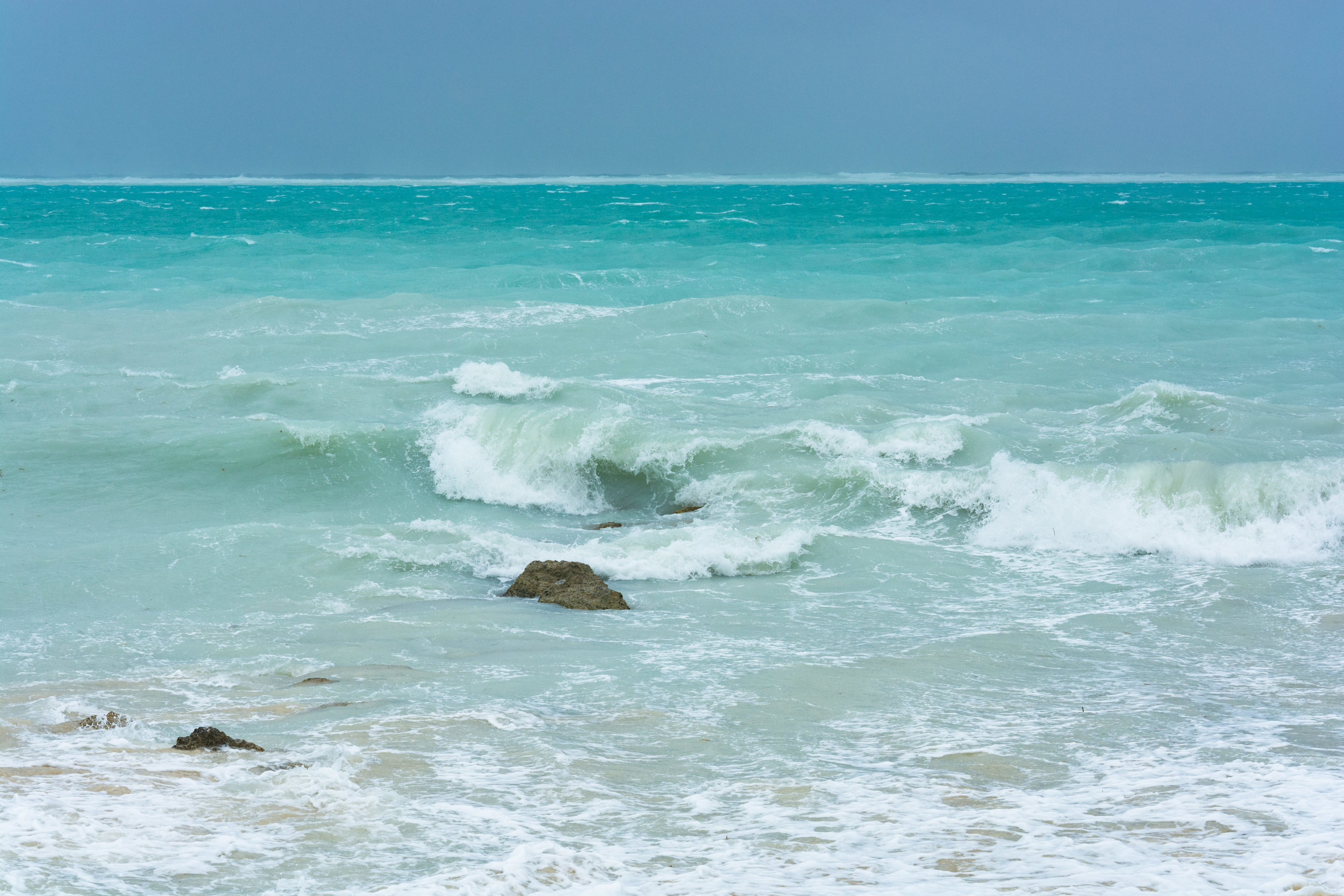 September: Stormy Mornings | Providenciales, TCI - A look at Leeward beach as the effects of Maria linger.
