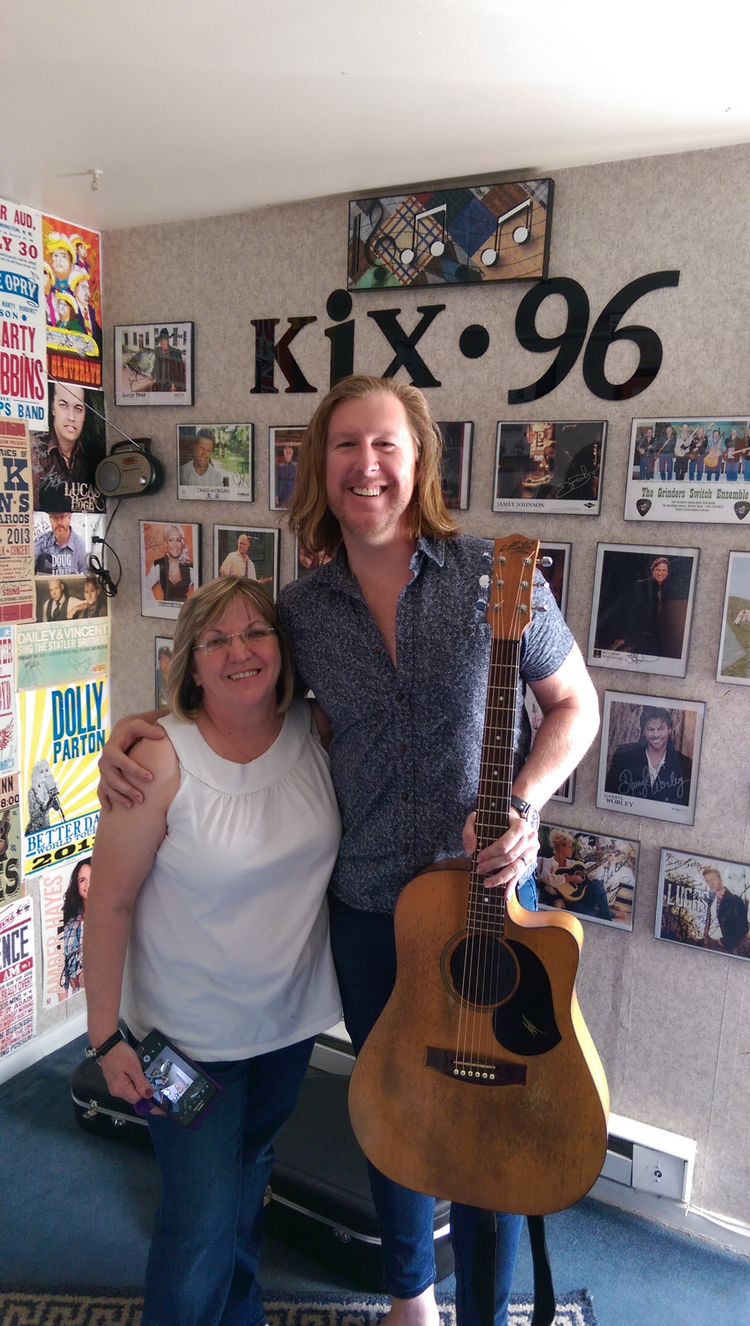 Sheila from Kix96 Centreville, TN