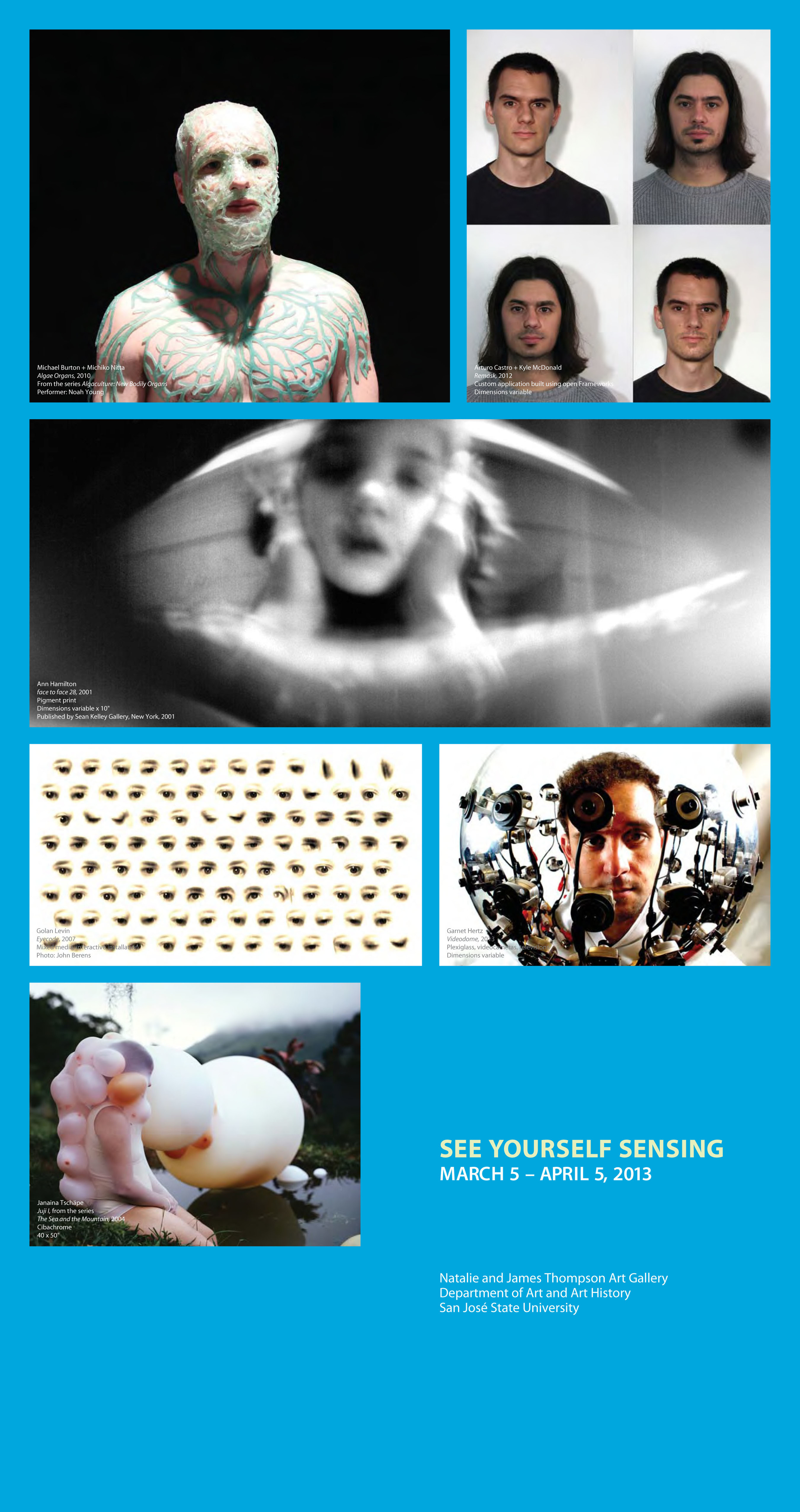 See Yourself Sensing poster, San Jose State University