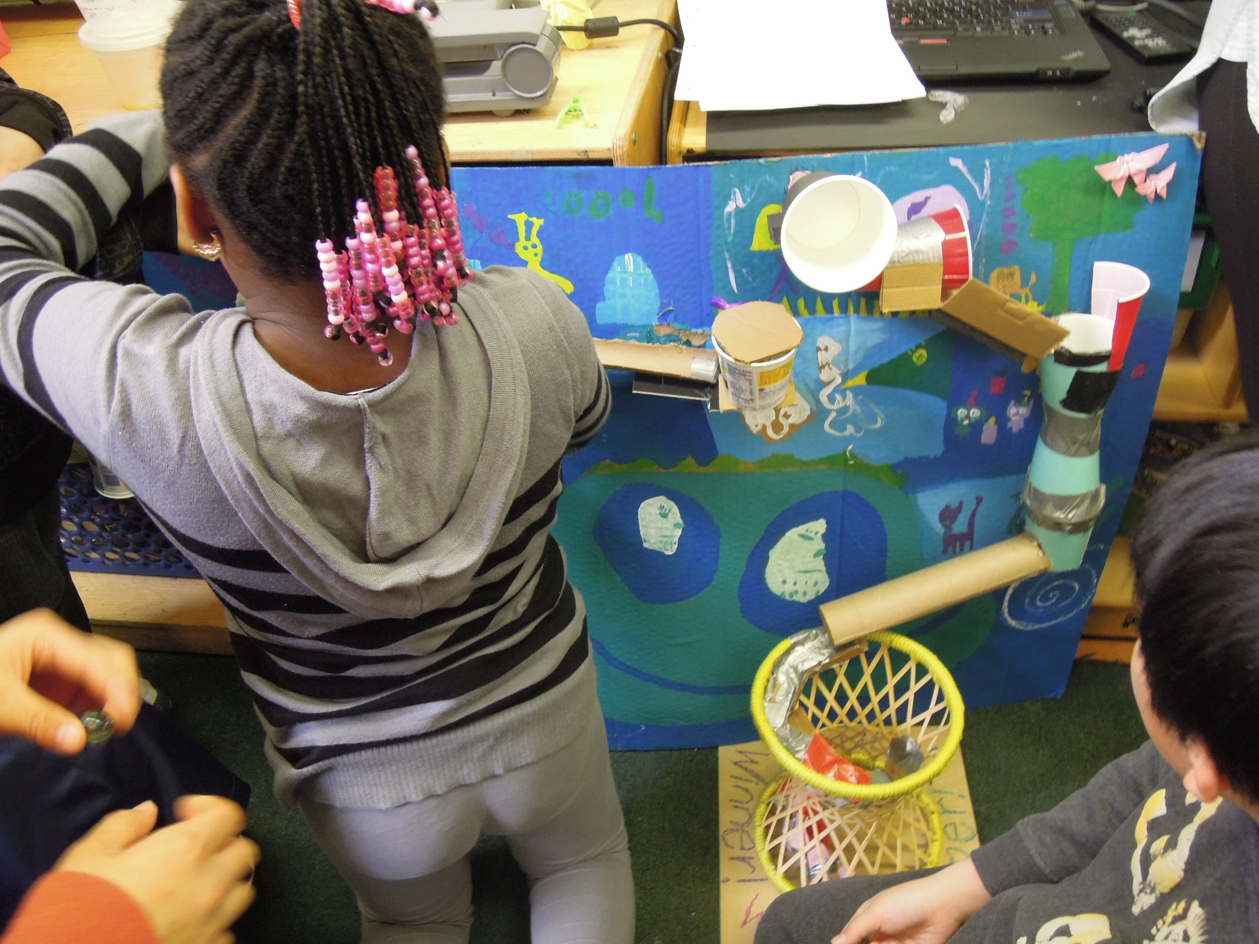 Making Rube Goldberg structures with PS 8