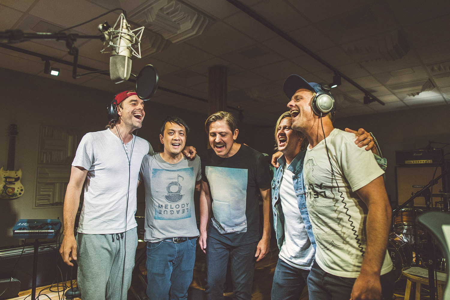 A shot from our recording session with Grammy Award winning multi-platinum record selling rock band   Switchfoot   at the   Songbirds's Studio  .