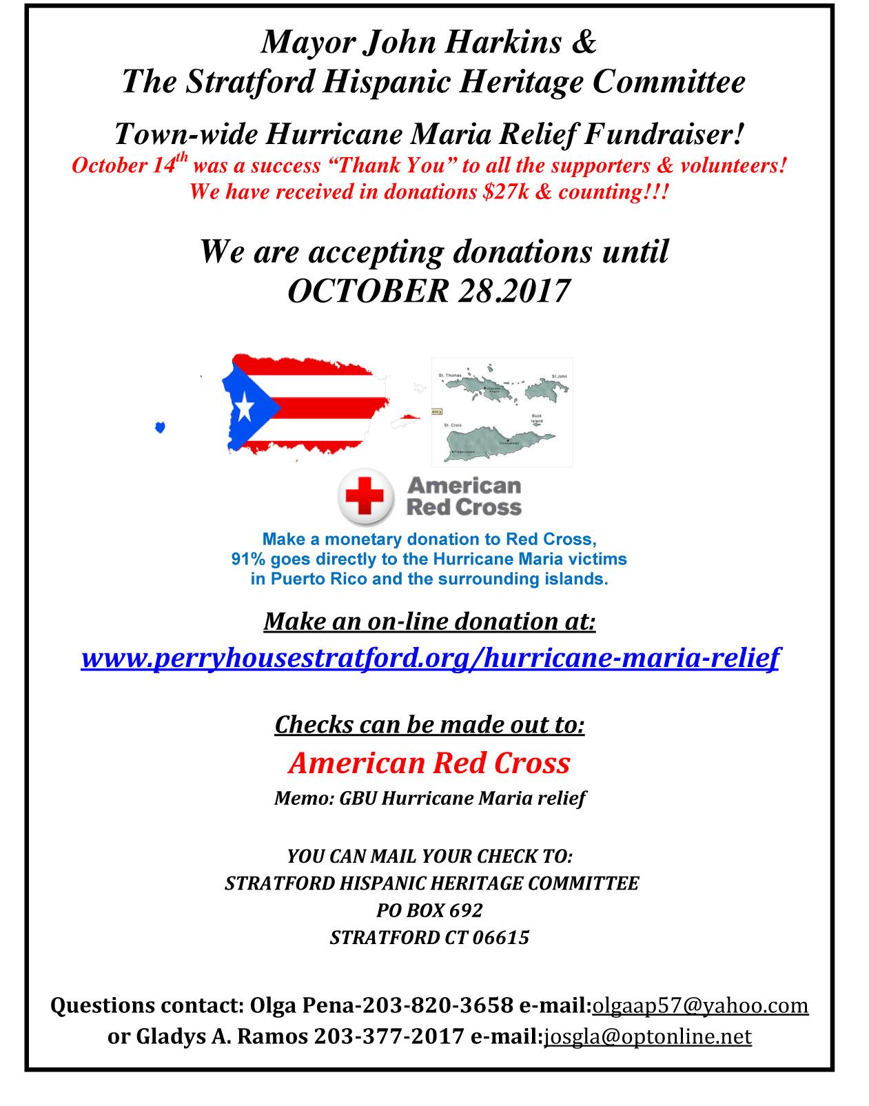 Stratford townwide Hurricane Maria fundraiser.jpg