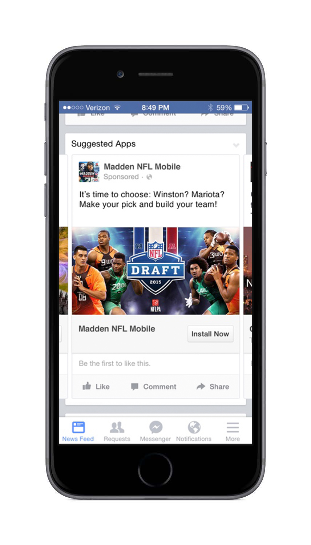 Facebook: Sponsored Advertising