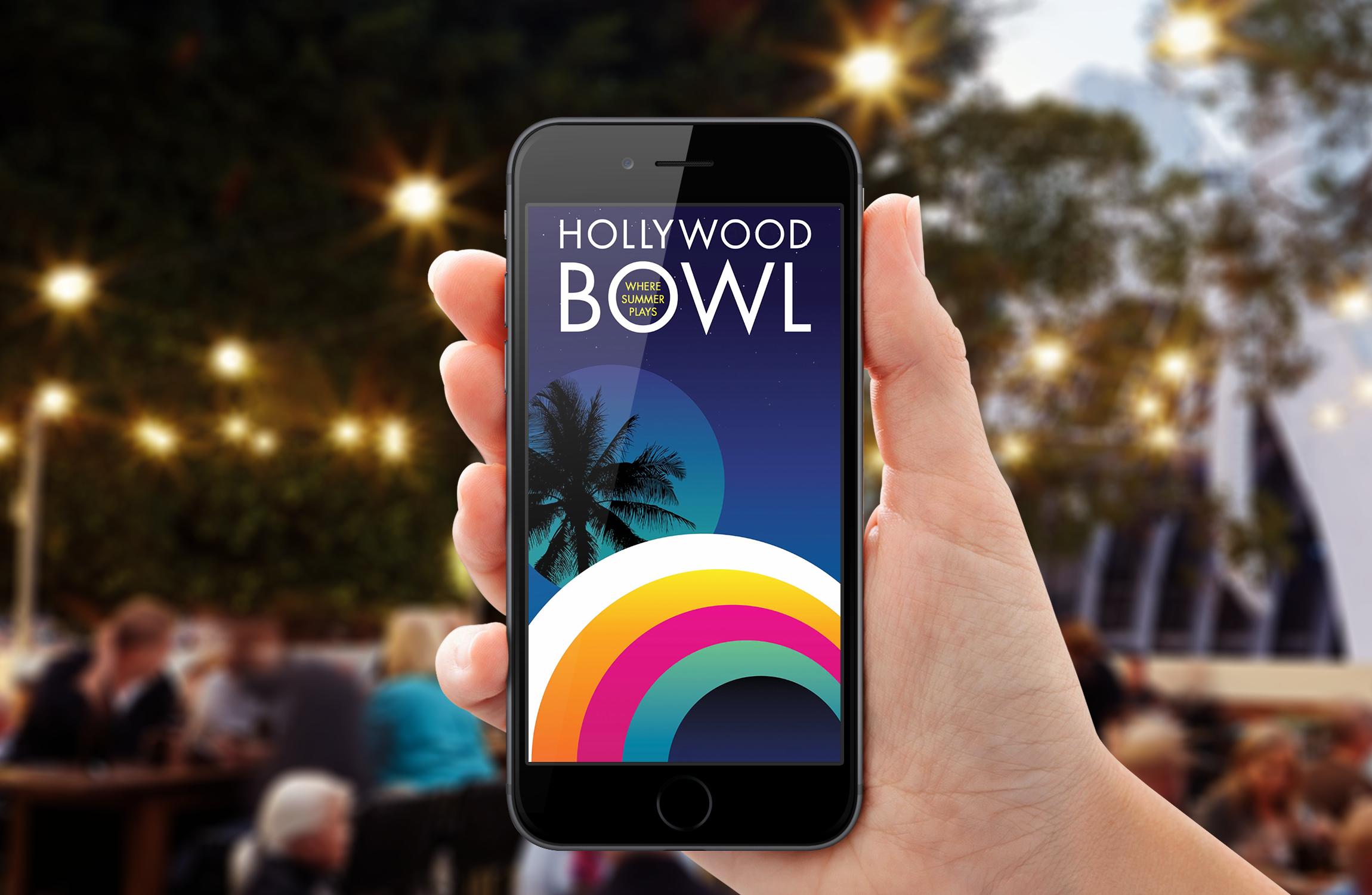 Hollywood Bowl App