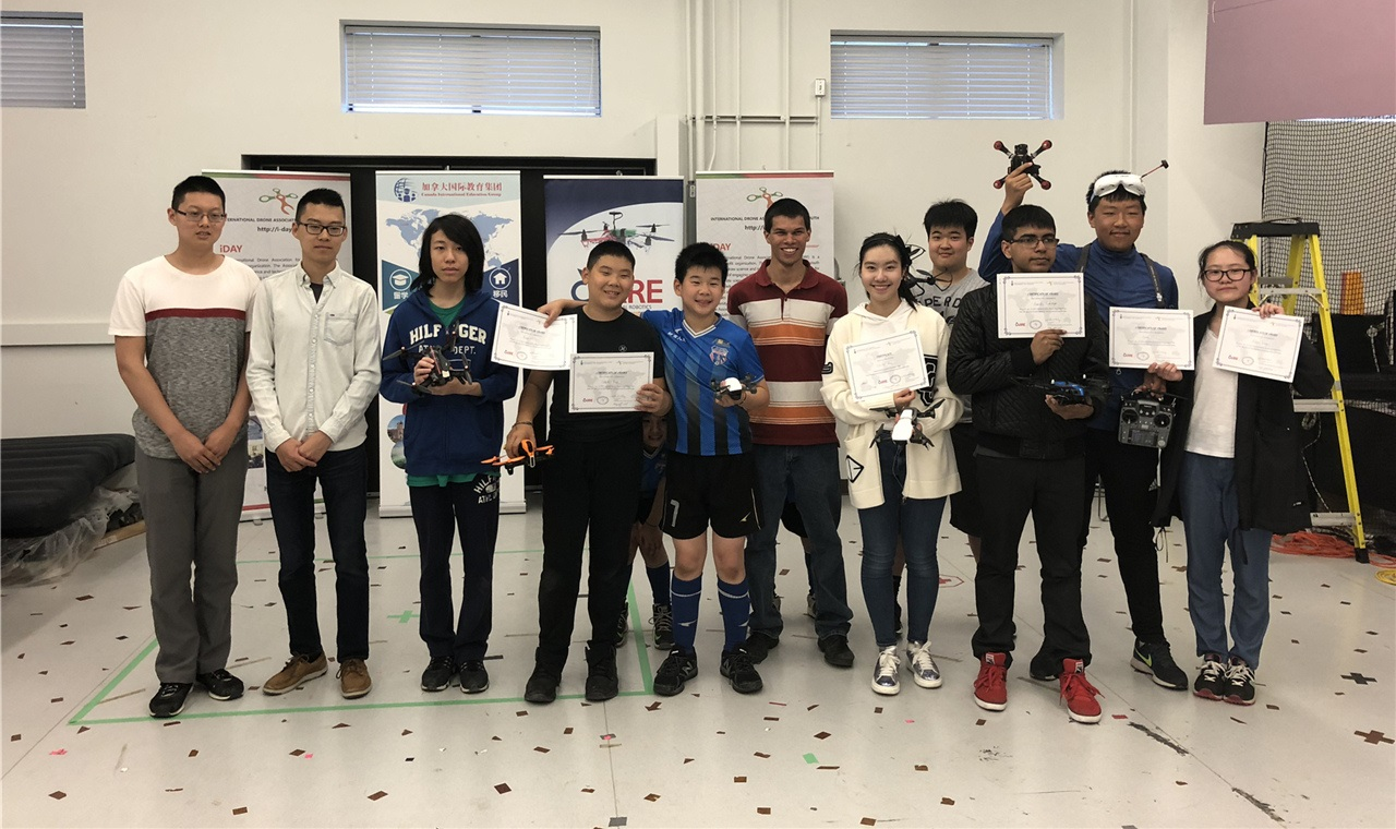 On May 20th 2018, the International Drones Associations for the Youth, known as iDAY, and the Centre for Aerial Robotics Research and Education (CARRE), University of Toronto successfully hosted its  2nd Annual Drone Qualification Competition  at the University of Toronto Institute for Aerospace Studies (UTIAS). Congratulations Awardees!  Now for the next phase: the final Annual Drone Competition. It will take place this year in China, July 2018 and Toronto will take their 5 top Canadian winning teams to compete in the final International Competition. Good luck!