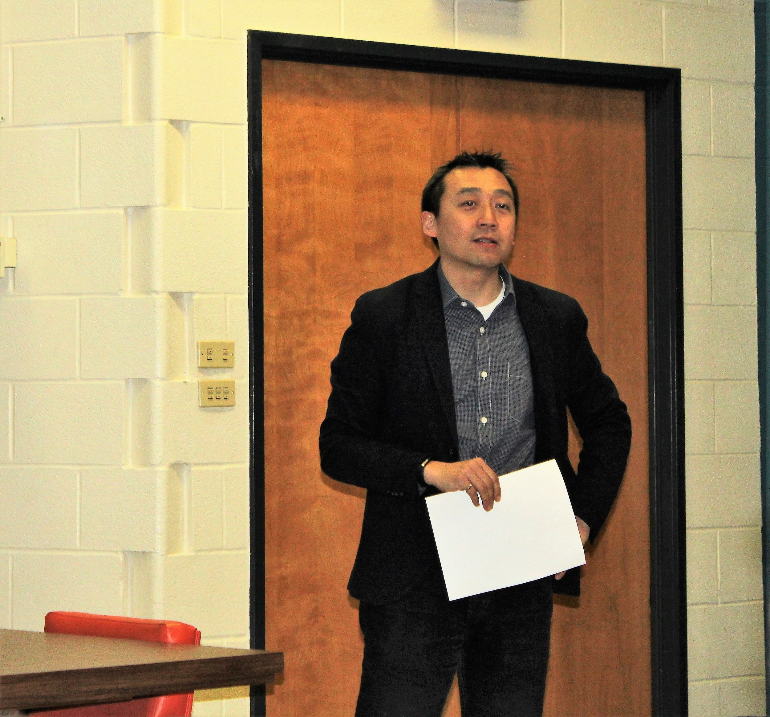 CARRE Director Professor Hugh Liu