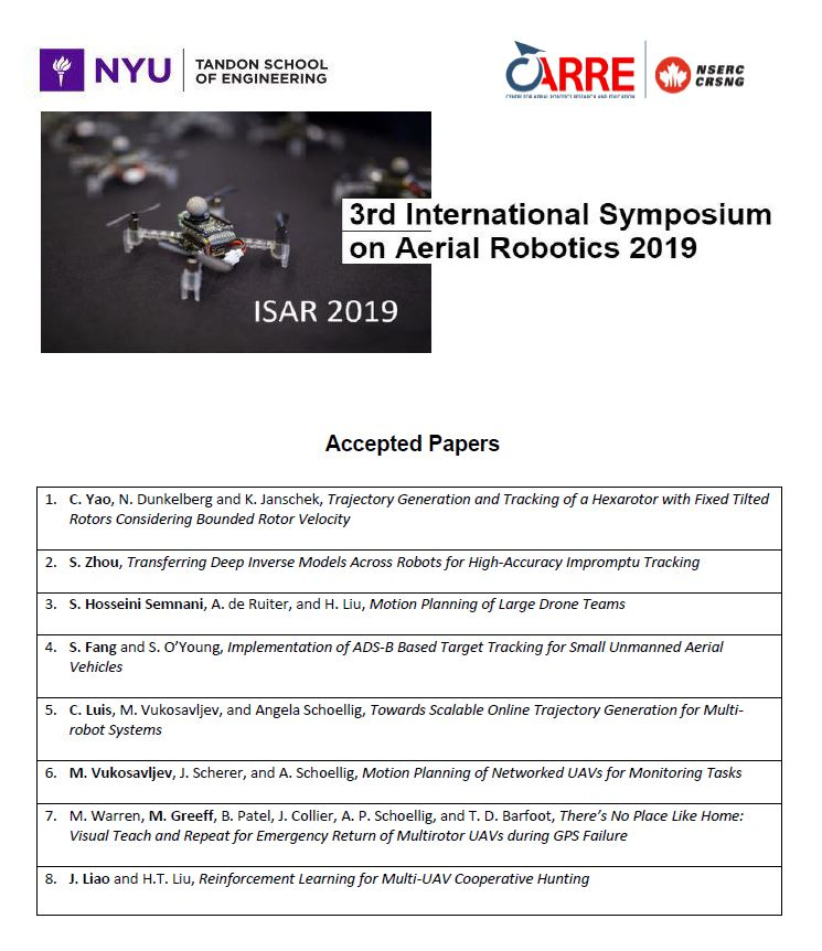 ISAR 2019 Accepted Papers_web version.JPG