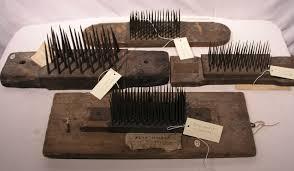Hackling Combs
