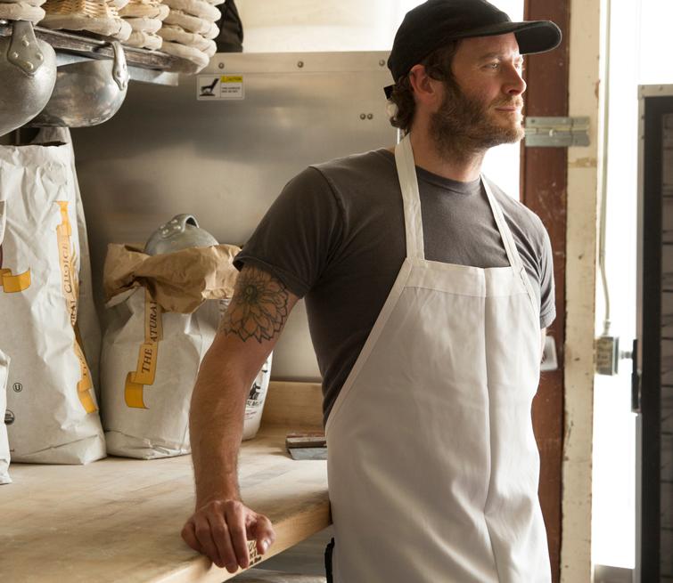 Chad Robertson at Tartine Bakery