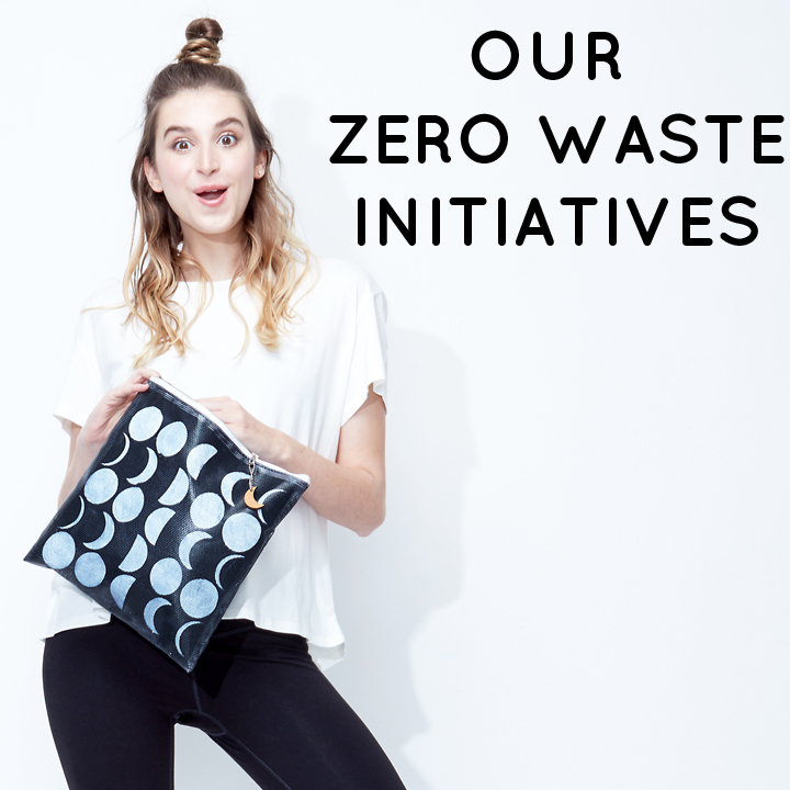 Zero Waste Initiatives - Sustainable Vegan Accessory by Miakoda