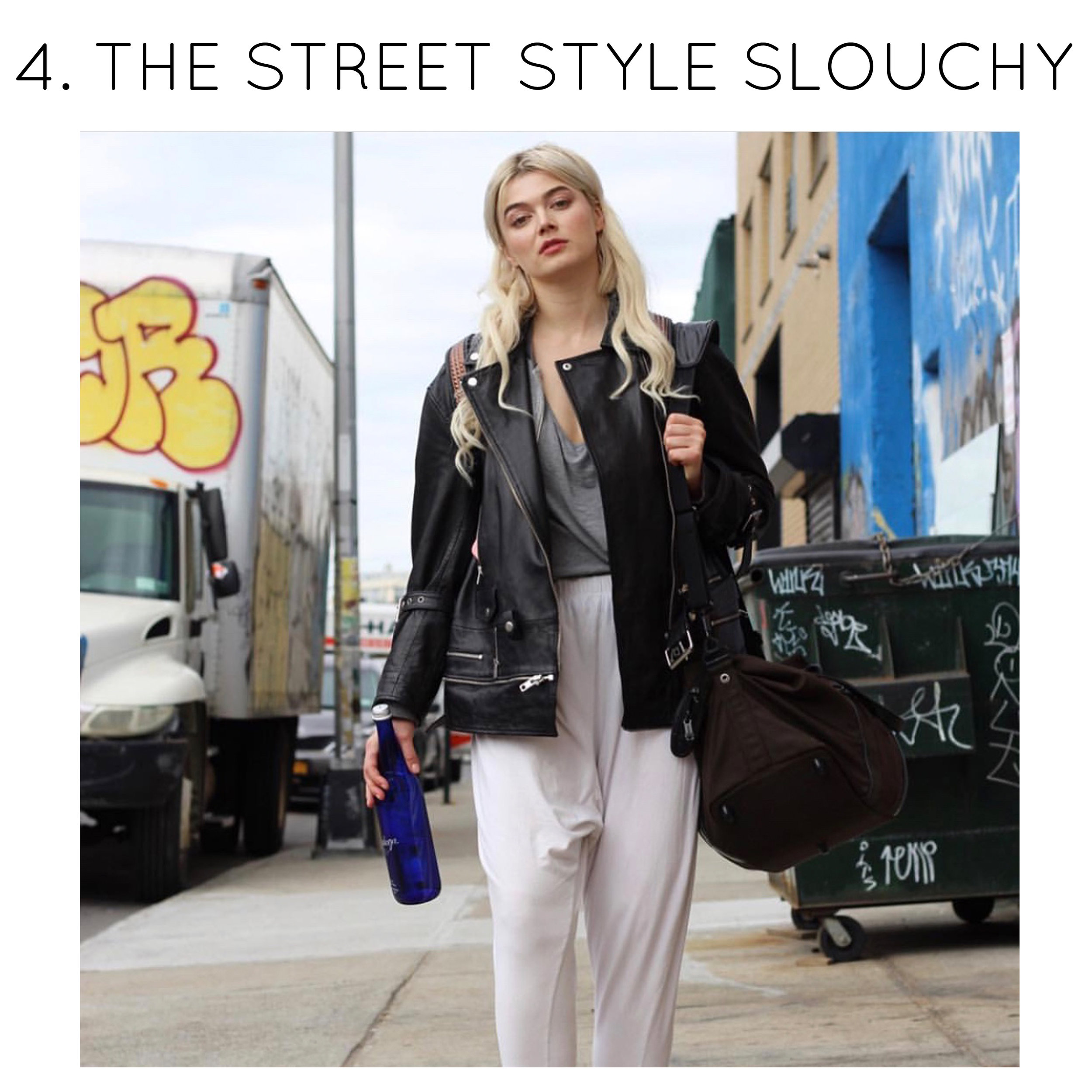 How to Wear Sustainable Slouchy Pants by Miakoda - Street Style Tips