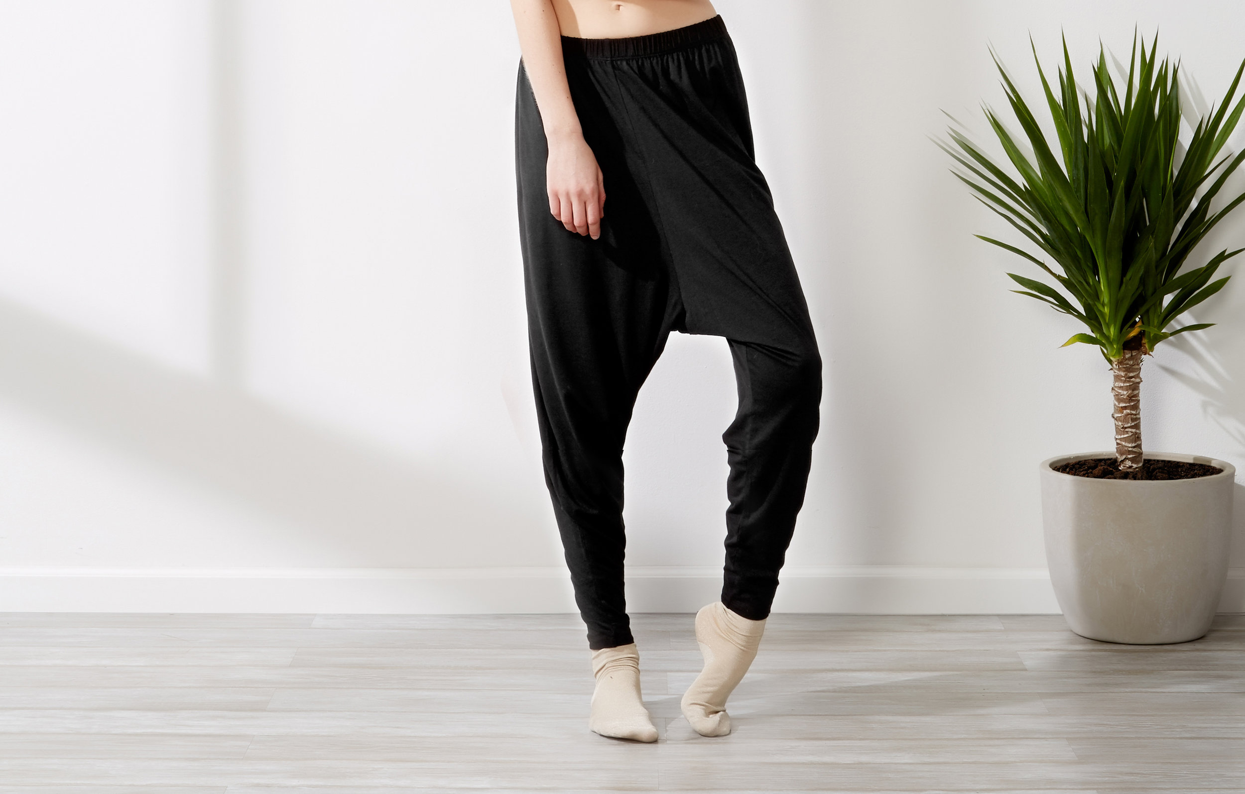 Sustainable Slouchy Pants - Women's Vegan Clothing