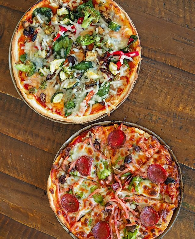 Have you head of our 2-for-1 lunch deal? Get 2 pizzas or pastas for the price of 1 during lunch time! This promo is only running until the end of October. Order online or in-store.