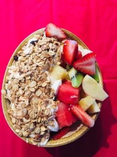 Fruit Bowl & Greek Yogurt