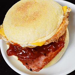 Bacon and Egg Muffin