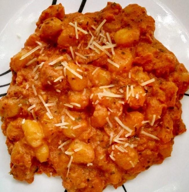 Potato and Pumpkin Gnocchi