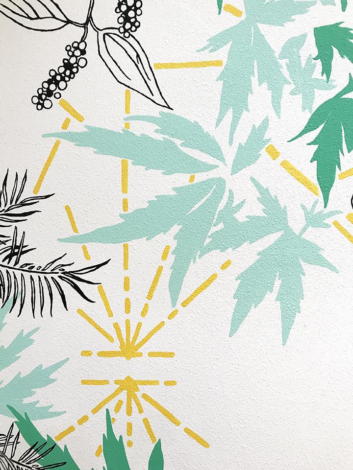 Treestar Mural